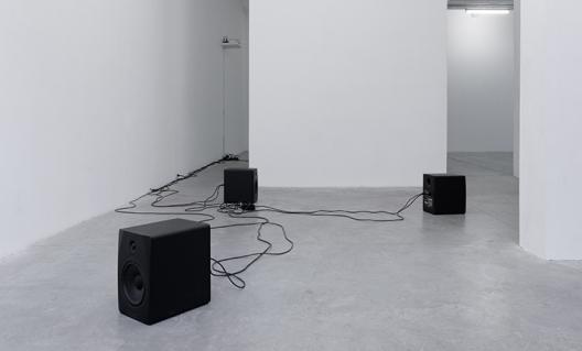 Dominique Petitgand - Les lettres blanches, 2016 © Aurélien Mole