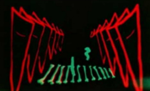 Spook Sport (Seeing Sound), Mary Ellen Bute (with extra animation by Norman McLaren)