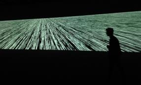 Ryoji Ikeda, Code-Verset, Centre Pompidou © Benoît Montigné