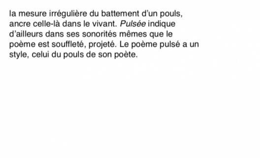 © NOTE de poésie pulsée d'Anna Serra