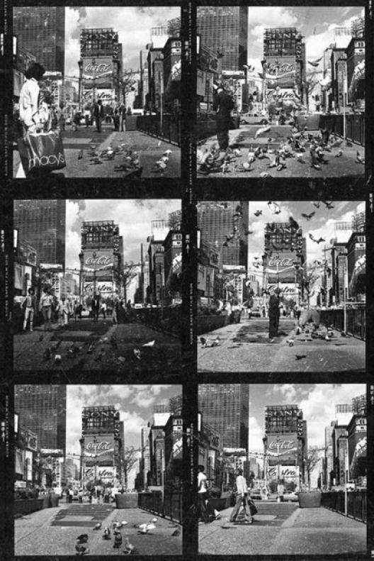 Max Neuhaus, Underground Music(s) Times Square, 1977, extrait d'un poster. © Courtesy Estate Max Neuhaus.