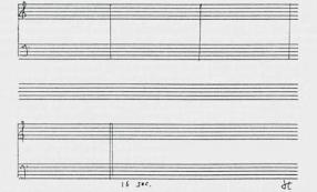 John Cage, partition de 4'33''